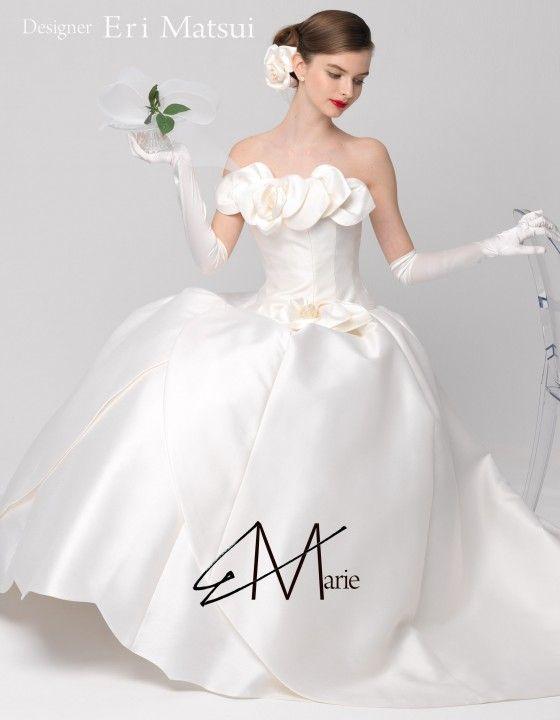 【ザ・ウエディング】エリ松居♥ウエディングドレス・デザイナーの「お仕事と哲学」♥ダイアリー