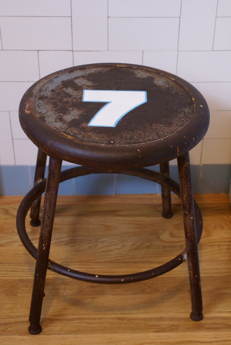 Vintage Metal Stools By Oldandboard On Etsy Stools