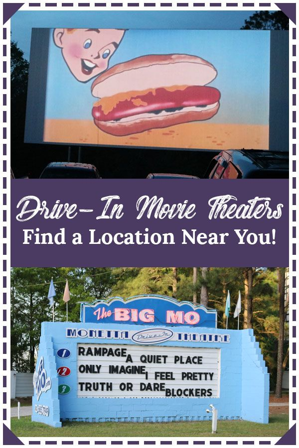 Drive In Movie Theater Locations Kids Outdoors Summer Fun