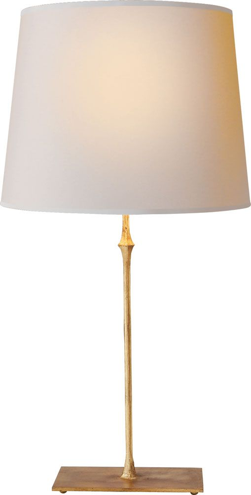 This One Is Gilded Iron DAUPHINE TABLE LAMP