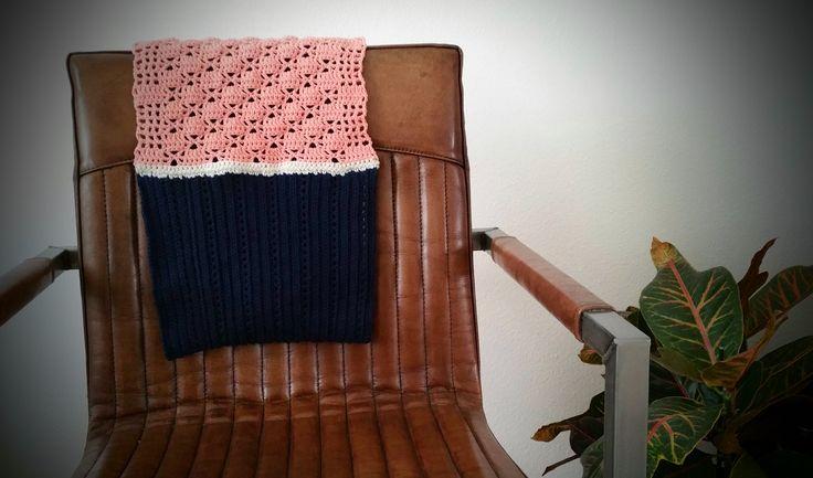 Haakpatroon vrolijke warme sjaal by Lovincotton on Etsy Crochet pattern Lacy Ribbed Scarf by Lovincotton on Etsy