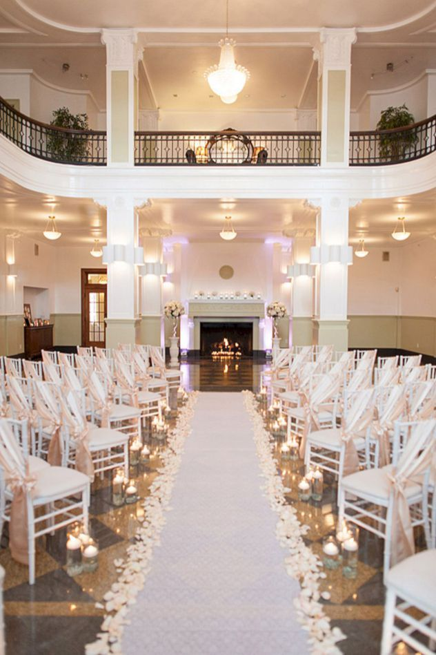 wedding reception venues woodstock ga%0A     Beautiful White Indoor Wedding Ceremony Ideas You Need To Try