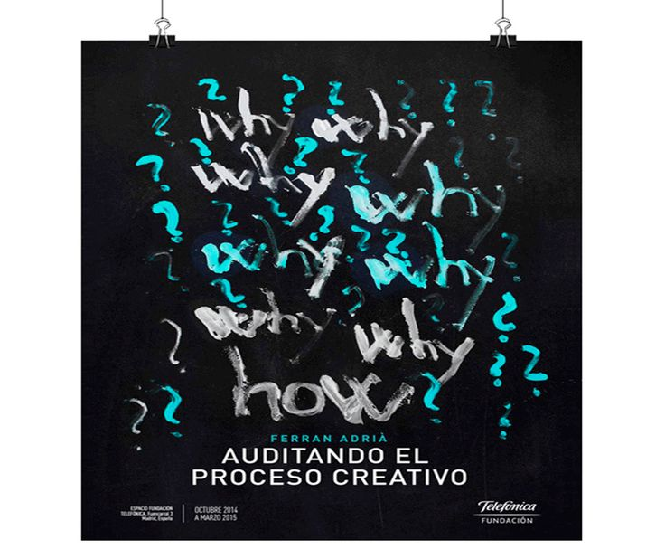 Ferrán Adrià, Auditando el proceso creativo http://www.gastronomiaycia.com/2014/06/14/ferran-adria-auditando-el-proceso-creativo/