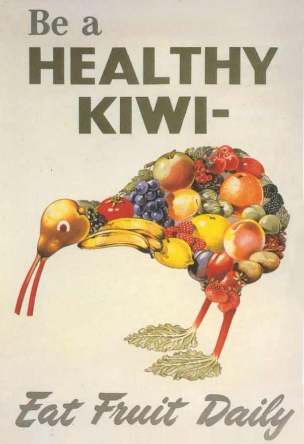New Zealand way of healthy lifestyle promotion! Be a helathyKIWI!
