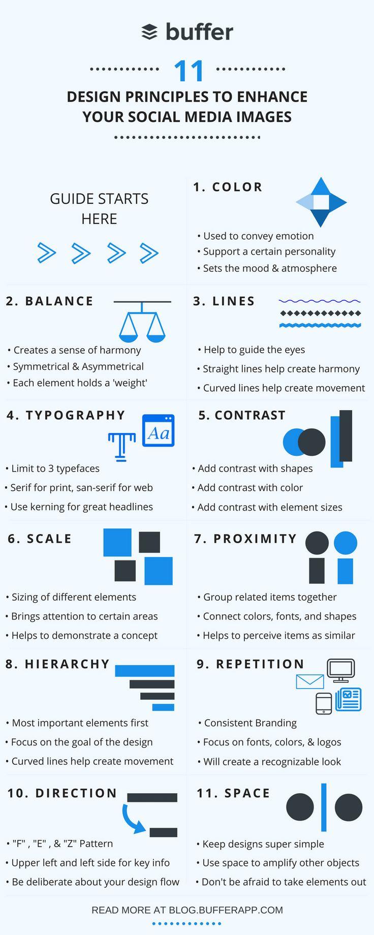 Social Media Design: 11 Principles to Improve Your Social Media Images