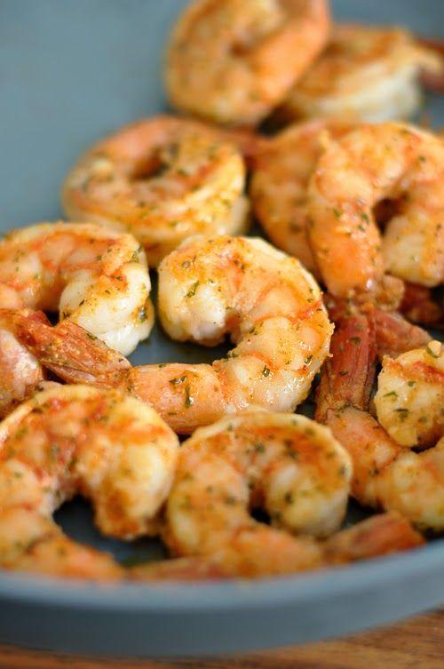 Perfect Sauteed Shrimp