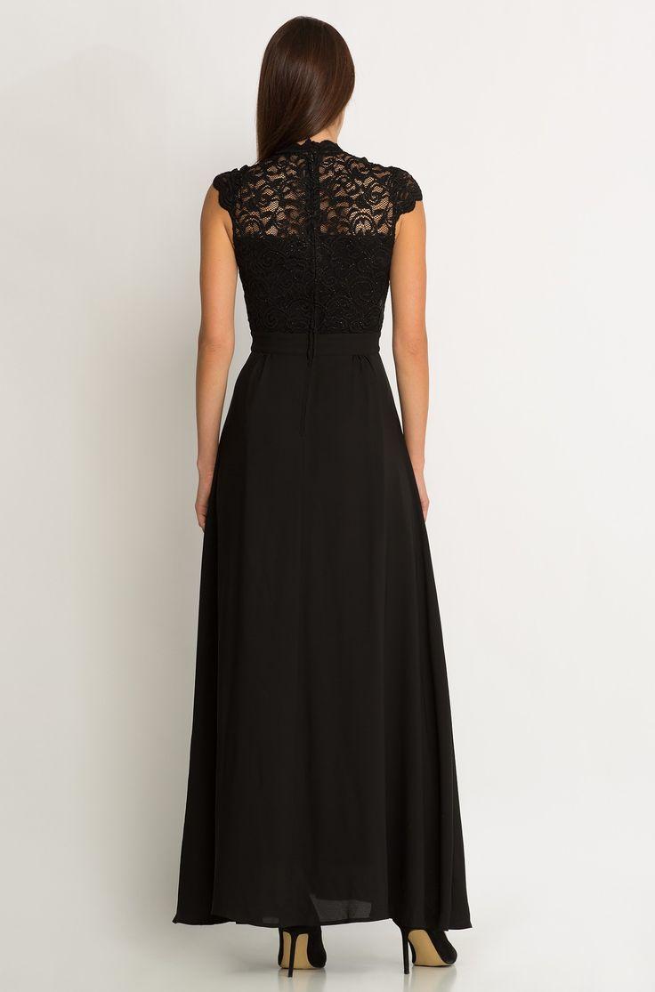 Maxi-Kleid mit Spitzeneinsatz | ORSAY