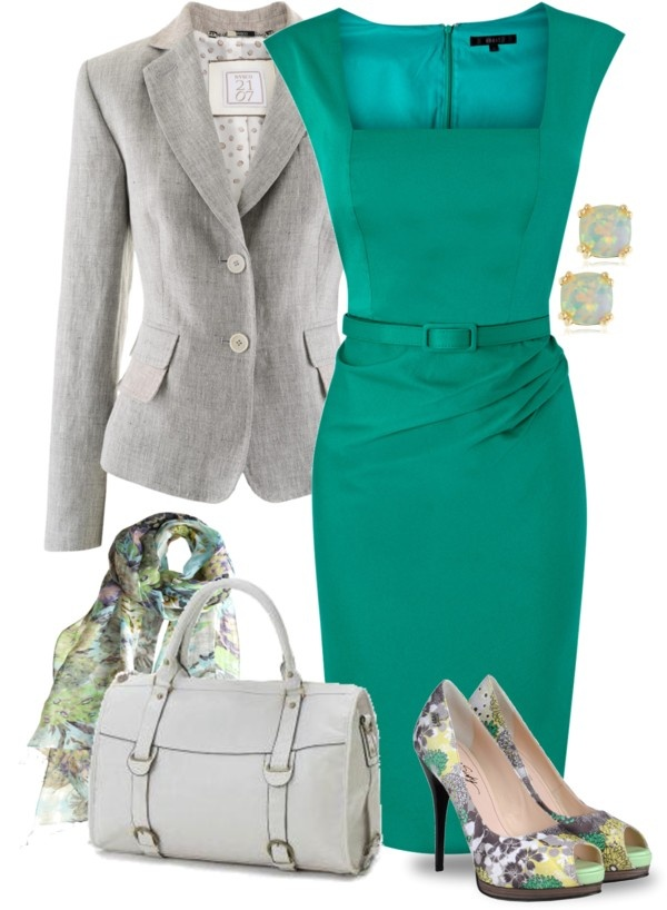"""Emerald Dress"" by yasminasdream on Polyvore"