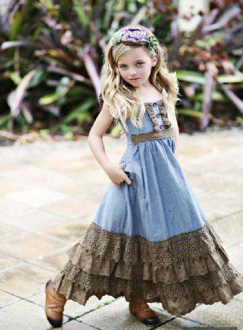 Fashionable girls dress