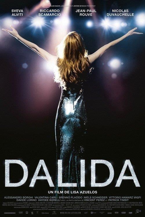 Dalida    De sa naissance au Caire en 1933 à son premier Olympia en 1956, de son mariage avec Lucien Morisse, patron de la jeune radio Europe n°1 aux soirées disco, de ses voyages initiatiques en Inde au succès mondiale de « Gigi l'Amoroso » en 1974, le film Dalida est le portrait intime d'une femme absolue, complexe et solaire… Une femme moderne a une époque qui l'était moins ... Malgré sa disparition tragique en 1987 Dalida continue à rayonner de sa présence éternelle.