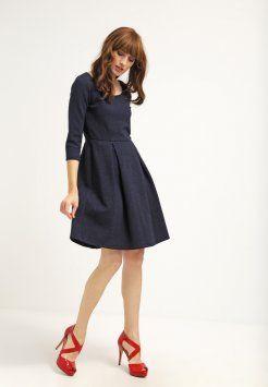 MAX&Co. - PORTICI - Jerseyklänning - navy blue