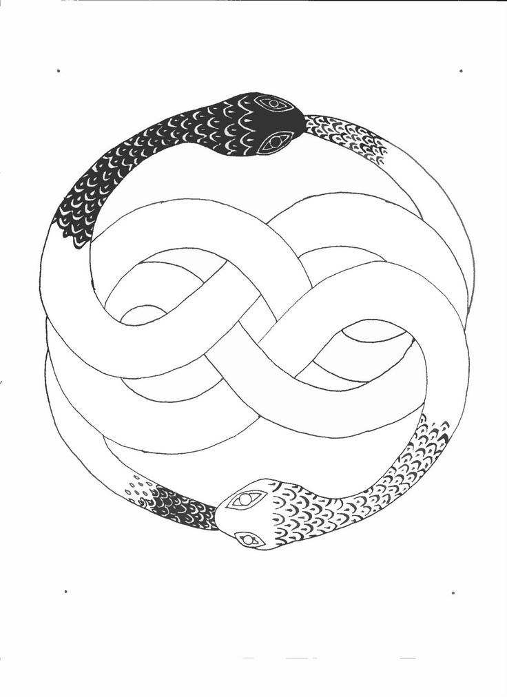 43 best images about ouroboros tattoos on pinterest for Snake eating itself tattoo
