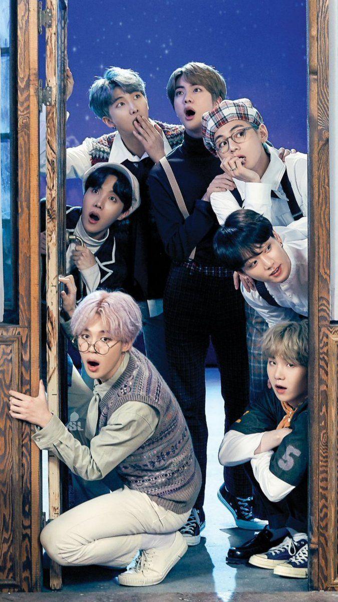 Bts group photo hd wallpaper