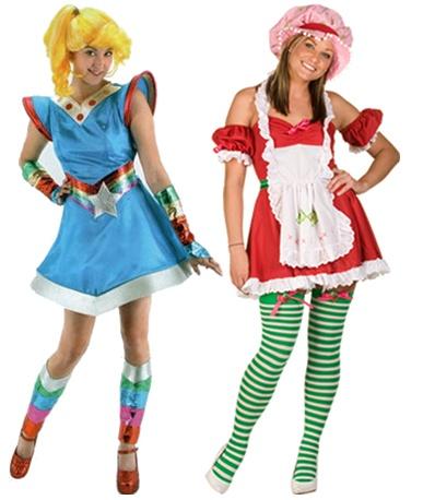 Halloween ideas. Strawberry Shortcake costume.