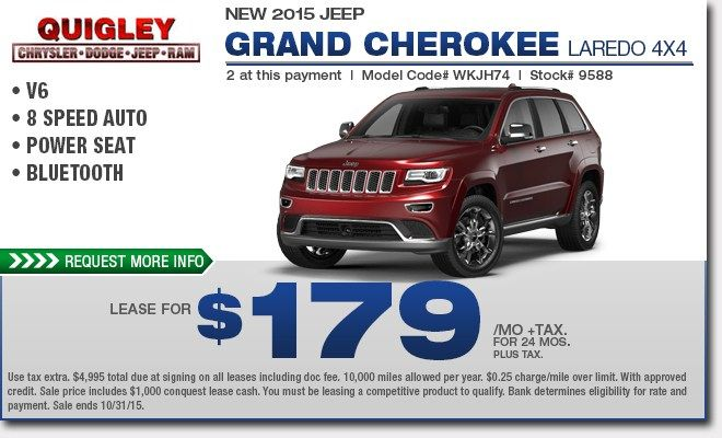 Awesome Jeep Grand Cherokee Limited Lease Deals