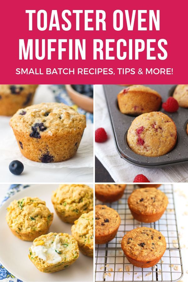 Toaster Oven Muffin Recipes Toaster Oven Recipes Easy Oven