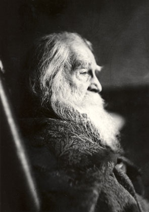 One of the last pictures ever taken of Walt Whitman.