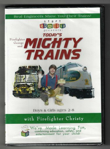 Firefighter George and Today's Mighty Trains (DVD)