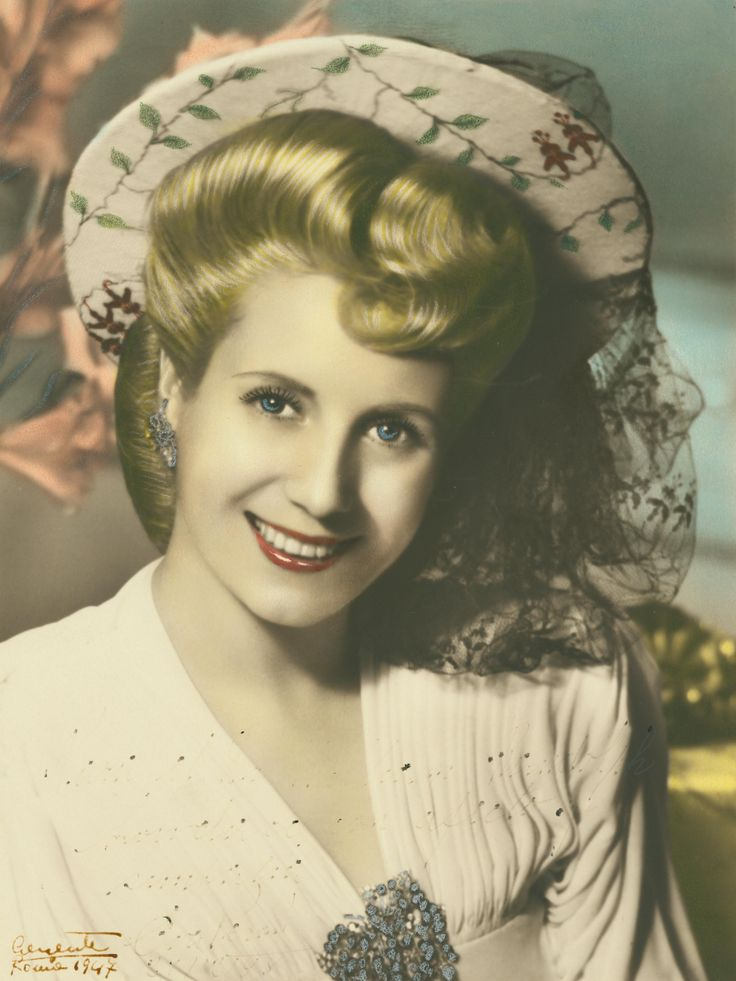 Amazing style and strength - champion for worker's and women's rights, Eva Peron