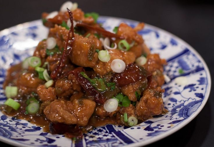 General Tso's Crispy Hot and Spicy Chicken