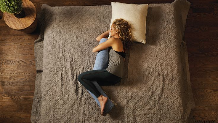 This combination of restorative yoga, meditation, essential oils, and Reiki—from dream team Colleen Saidman Yee and Rodney Yee—will help ease anxiety and insomnia to deliver your best night's zzz's.