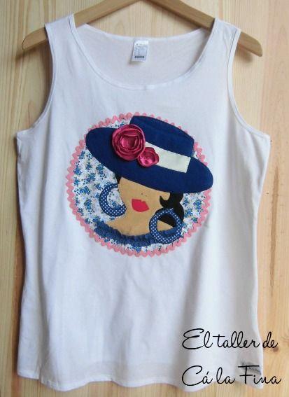 Cá la Fina.  Camisetas flamencas para romerías 8