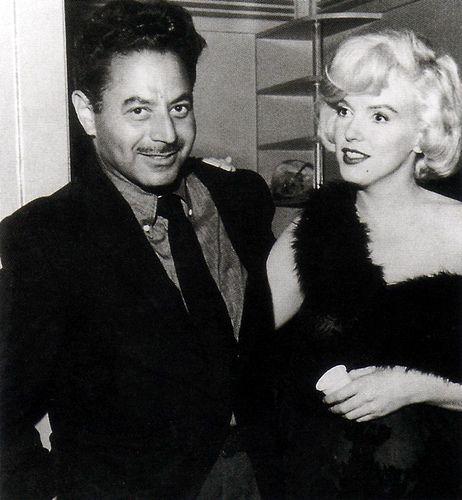 MM and Sam Shaw, c.1958   Flickr - Photo Sharing!