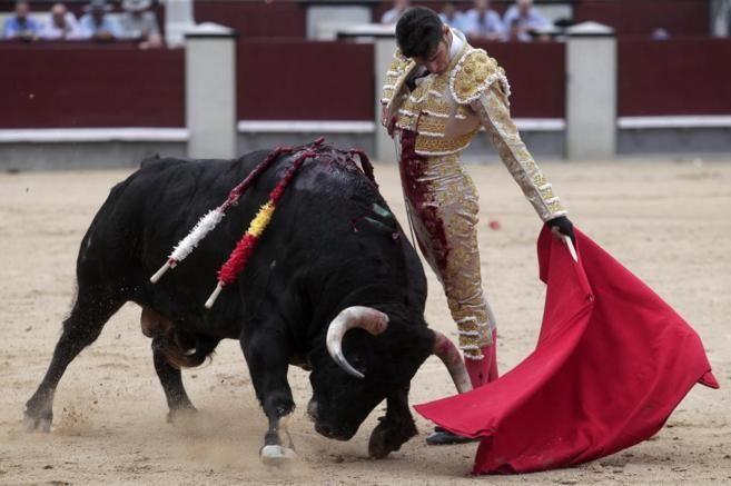 Inmenso cambio de mano de Alejandro Talavante al único ventorrillo de...