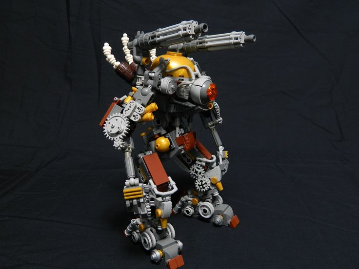 https://flic.kr/p/qRcZBF | Dr. Lucifer Paine's mechanized Monster | Built for the Agents of the Imperial Crown in the category of Free Build.  After Being fired for distasteful science involving deceased coyotes, Dr. Lucifer Paine swore vengeance against the Agents of the Imperial Crown. His newest invention is a monsterous steam powered clockwork mechanoid.