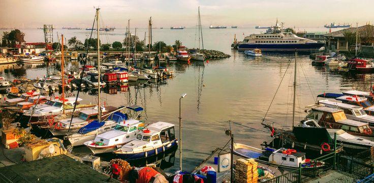 Fishing Port in Ataköy Seaside