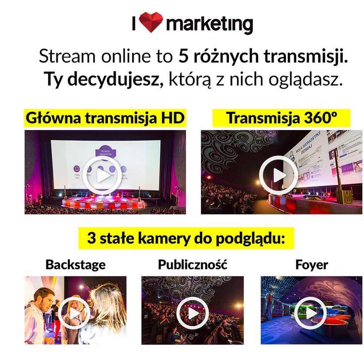 25 października odbędzie się konferencja #ilovemkt ❕❤️ Oprócz transmisji 360, proponujemy Wam też klasyczny widok, aż z 5 różnych perspektyw. ❕Zapisz się już dziś 👉🏻bit.ly/rej-konf