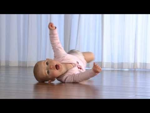 """Developmental Milestones """"Rolling From Tummy to Back Starts Around 2 to 5 Months"""" 