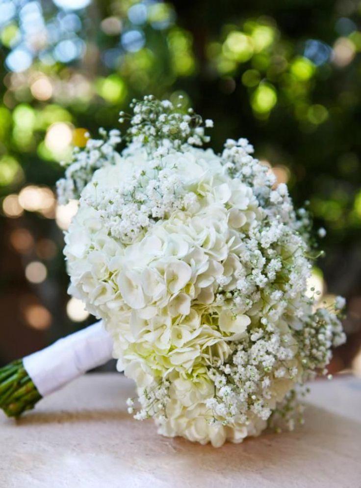 Цветочное вдохновение для свадьбы: Гипсофила