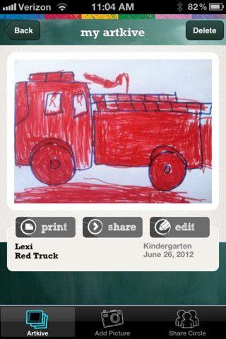 Artkive app: Books, Iphone App, Artkiv, Back To Schools, Ios App, Education App, Kiddo Artworks, Schools Kids, Kids Artworks
