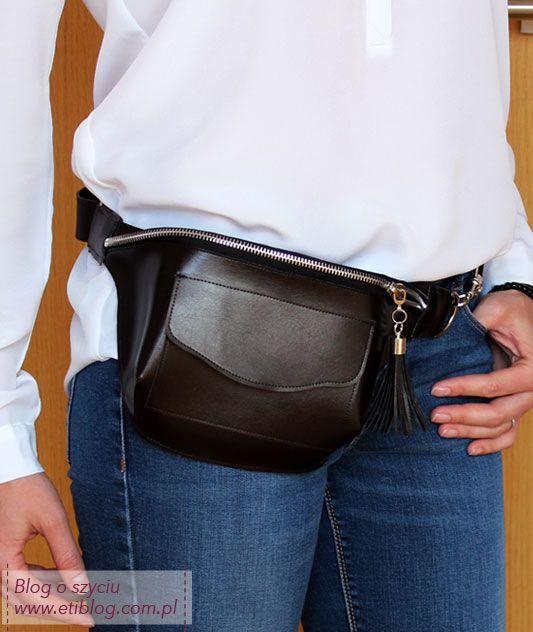 Jak uszyć saszetkę nerkę -  eti blog o szyciu