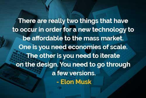 Dua Hal yang Harus Terjadi Pada Sebuah Teknologi Baru