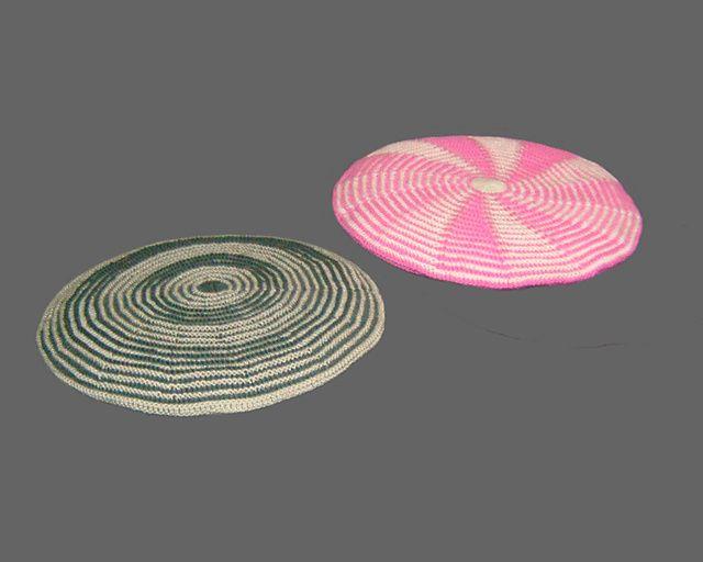 Circle Illusion Cushion Covers