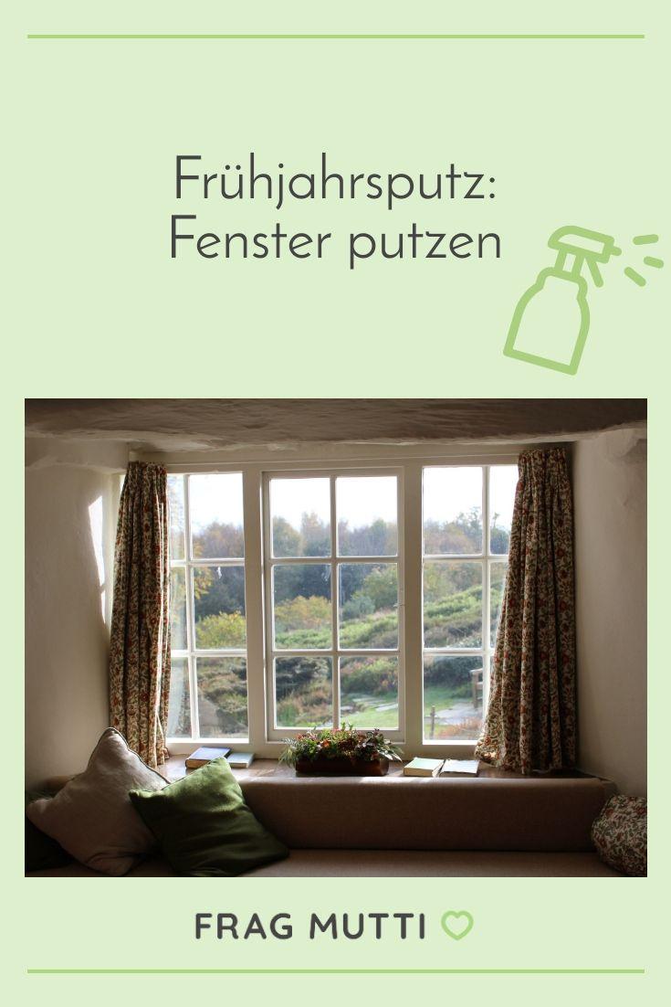 Fenster Putzen Hausmittel Tipps In 2020 Fenster Putzen Fruhjahrsputz Fenster
