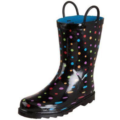 Western Chief Ditsy Dots Rain Boot (Toddler/Little Kid/Big Kid), Black Multi, 11 M US Little Kid Western Chief. $22.99