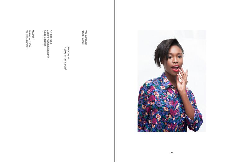 credits for the realization of the editorial & mohxa shirt