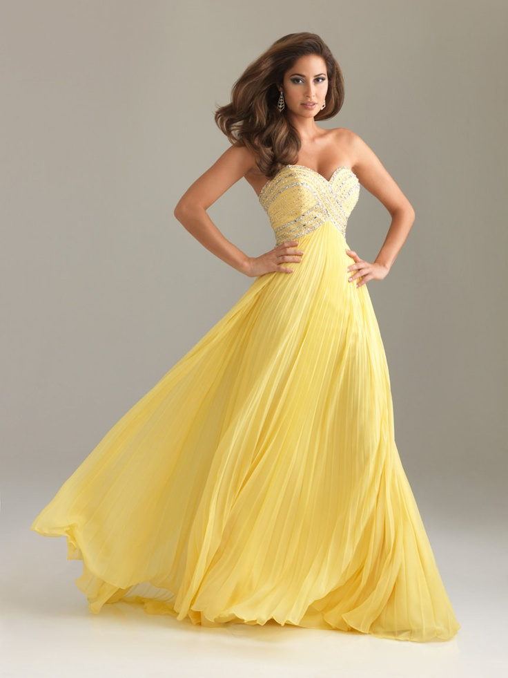 1000  ideas about Yellow Prom Dresses on Pinterest  Military ball ...