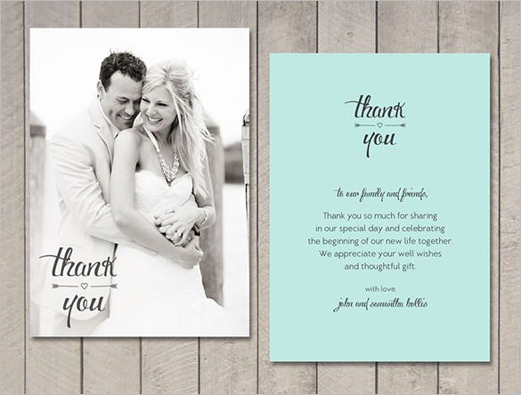 21+ Wedding Thank You Cards – Free Printable PSD, EPS Format Download! | Free & Premium Templates