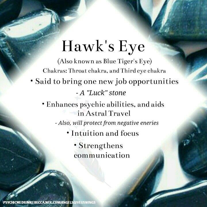 Hawk's eye crystal meaning