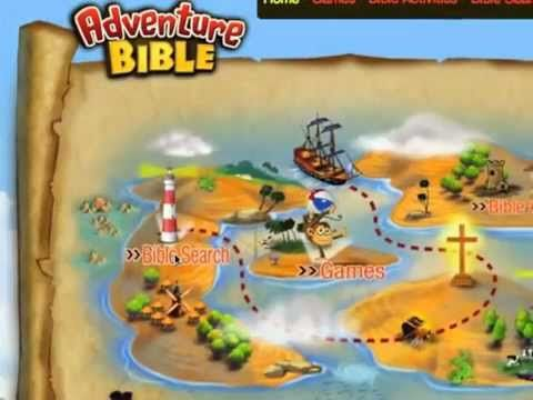Adventure Bible Website-new resource for teachers and parents | SojournKids