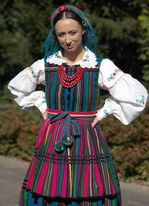 Folk costume of Opoczno, Poland