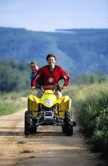 Quad Biking - Induna Adventures. Our trails run through the most scenic Sabie River Valley, winding along the Sabana River, indigenous vegetation, mountain hills and other streams. Trails vary from technical to easy to accommodate the novice and experienced riders.