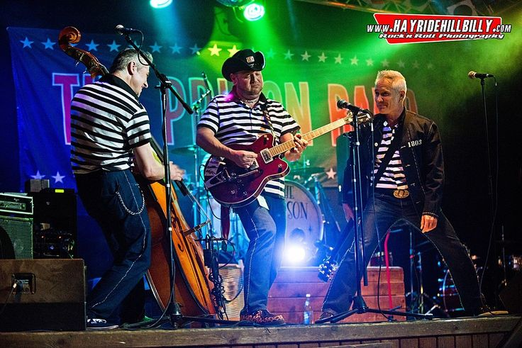 The Prison Band are a particularly dangerous bunch of rockabilly rebels; even their name was stolen from Elvis' Jailhouse Rock.