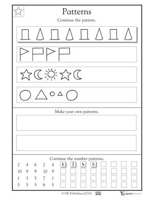 1000+ images about Patterns Unit on Pinterest | Fine motor ...