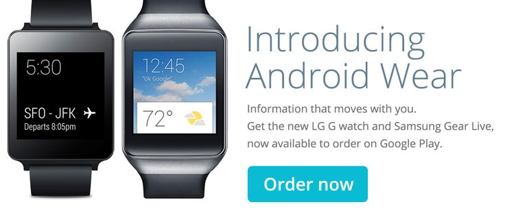 Android Wear Smart Watches Available on Google Play Store