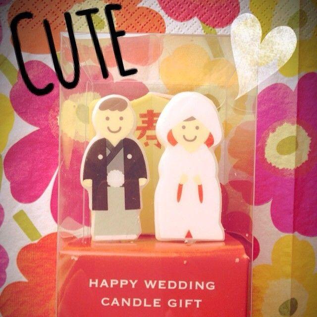 売り切れ続出*3COINSのウェディングキャンドルが可愛い♡にて紹介している画像